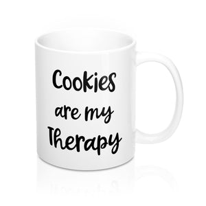 Cookies are my Therapy Mug