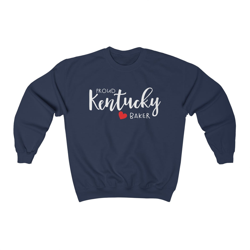 Proud Kentucky Baker Unisex Heavy Blend™ Crewneck Sweatshirt