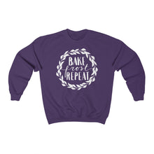 Load image into Gallery viewer, (a) Bake Frost Repeat Unisex Heavy Blend™ Crewneck Sweatshirt