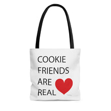 Load image into Gallery viewer, Cookie Friends Are Real AOP Tote Bag