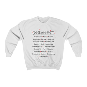 Cookie Community Unisex Heavy Blend™ Crewneck Sweatshirt