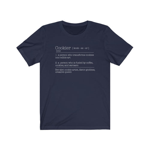 (b) Cookier Definition Short Sleeve Tee