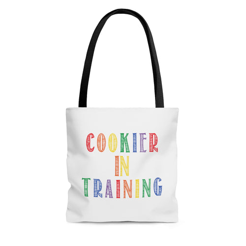(a) Cookier in Training-Color AOP Tote Bag