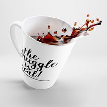 Load image into Gallery viewer, (a) The Struggle is Real Latte Mug