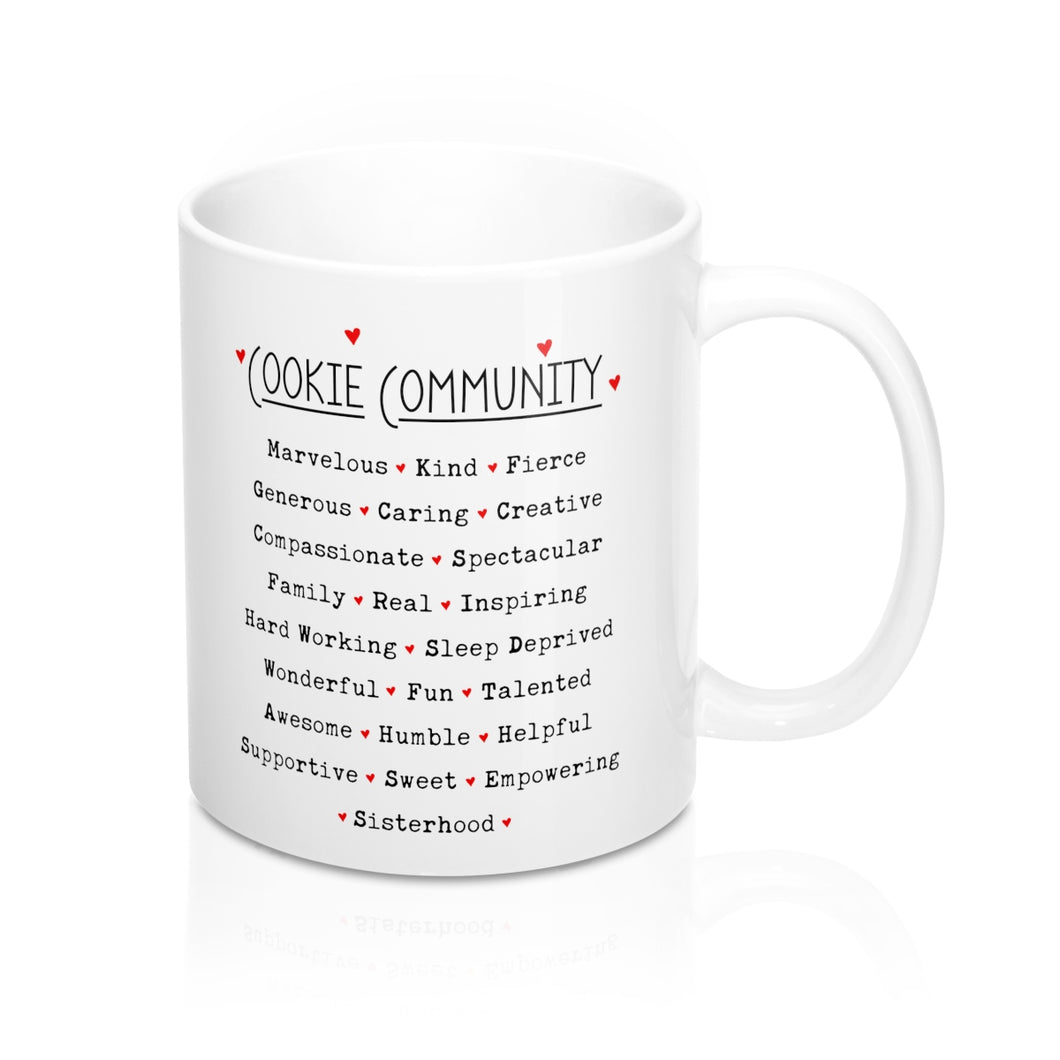I Love Cookies/Cookie Community Mug