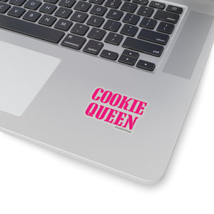 Cookie Queen Pink Kiss-Cut Sticker