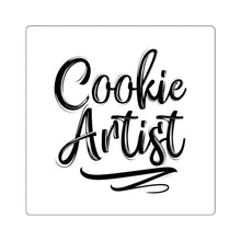 Load image into Gallery viewer, Cookie Artist Square Sticker