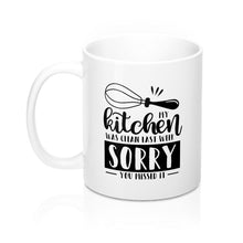 Load image into Gallery viewer, My Kitchen was Clean Last Week Mug