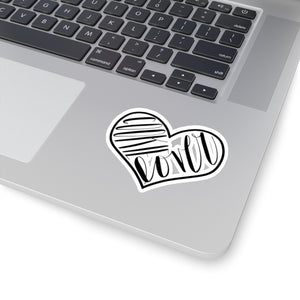 (a) Cookie Lover Kiss-Cut Sticker