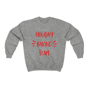 Holiday Baking Team(3) Unisex Heavy Blend™ Crewneck Sweatshirt