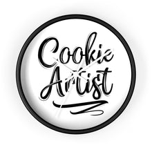 Load image into Gallery viewer, Cookie Artist 10 inch Wall clock