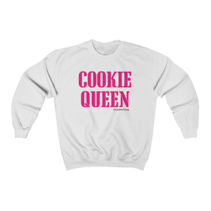Cookie Queen Pink Unisex Heavy Blend Crewneck Sweatshirt