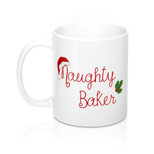 Nice or Naughty Baker Mug