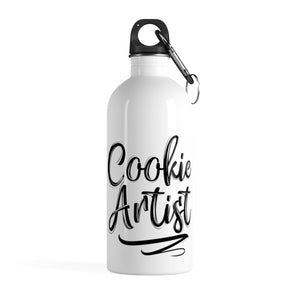 Cookie Artist Stainless Steel Water Bottle