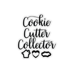 Cookie Cutter Collector Kiss-Cut Sticker