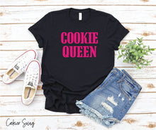 Load image into Gallery viewer, Cookie Queen Bella+Canvas 3001 Unisex Jersey Short Sleeve Tee