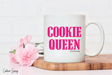Load image into Gallery viewer, Cookie Queen Pink Mug