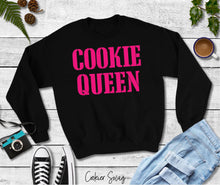 Load image into Gallery viewer, Cookie Queen Pink Unisex Heavy Blend Crewneck Sweatshirt