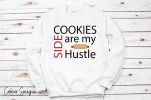 Cookies are my Side Hustle Unisex Heavy Blend Crewneck Sweatshirt