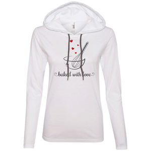 Baked with Love Hearts T-Shirt Hoodie