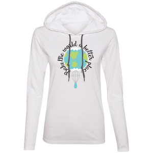 Bake the World a Beter Place Ladies' T-Shirt Hoodie