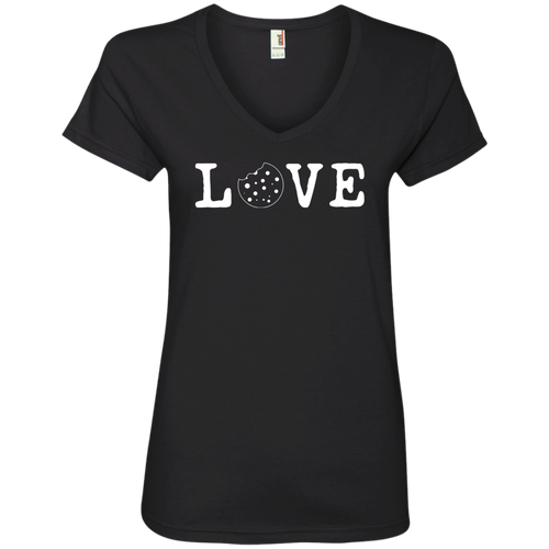 Love Anvil 88VL Ladies' V-Neck T-Shirt