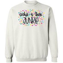 Load image into Gallery viewer, (a) Cookie-a-thon Junkie Crewneck Pullover Sweatshirt