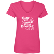 Load image into Gallery viewer, (a) Mixer Spatulas Rolling Pins Oh My! 88VL Ladies' V-Neck T-Shirt