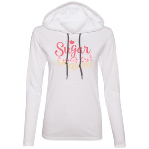 Sugar Coated Ladies' T-Shirt Hoodie