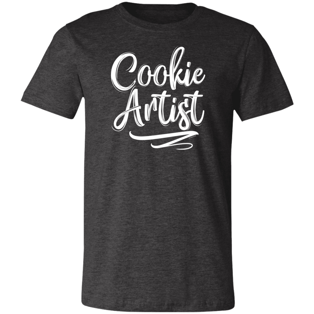 Cookie Artist Replacement 3001C Unisex Jersey Short-Sleeve T-Shirt