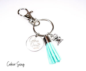 Cookie Queen Charm Key Chain
