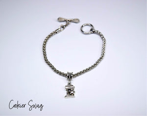 Kitchen Mixer Charm Bracelet