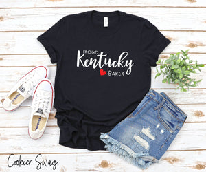 Proud Kentucky Baker Bella+Canvas 3001 Unisex Jersey Short Sleeve Tee