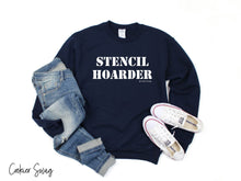 Load image into Gallery viewer, Stencil Hoarder Unisex Heavy Blend Crewneck Sweatshirt