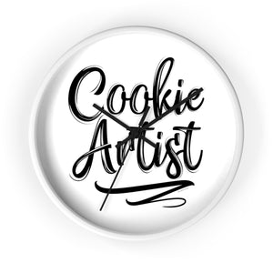 Cookie Artist 10 inch Wall clock