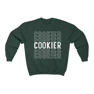 (a) Cookier Repeating Unisex Heavy Blend™ Crewneck Sweatshirt
