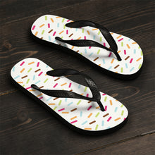 Load image into Gallery viewer, Sprinkles Unisex Flip-Flops
