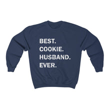 Load image into Gallery viewer, Best Cookie Husband Ever Unisex Heavy Blend™ Crewneck Sweatshirt