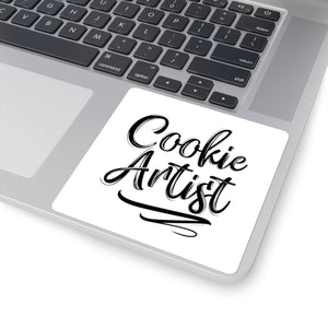 Cookie Artist Square Sticker