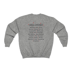 I Love Cookies/Cookie Community Unisex Heavy Blend™ Crewneck Sweatshirt