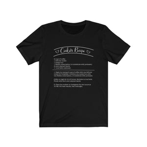 (b) Cookier Recipe Short Sleeve Tee