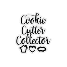 Load image into Gallery viewer, Cookie Cutter Collector Kiss-Cut Sticker