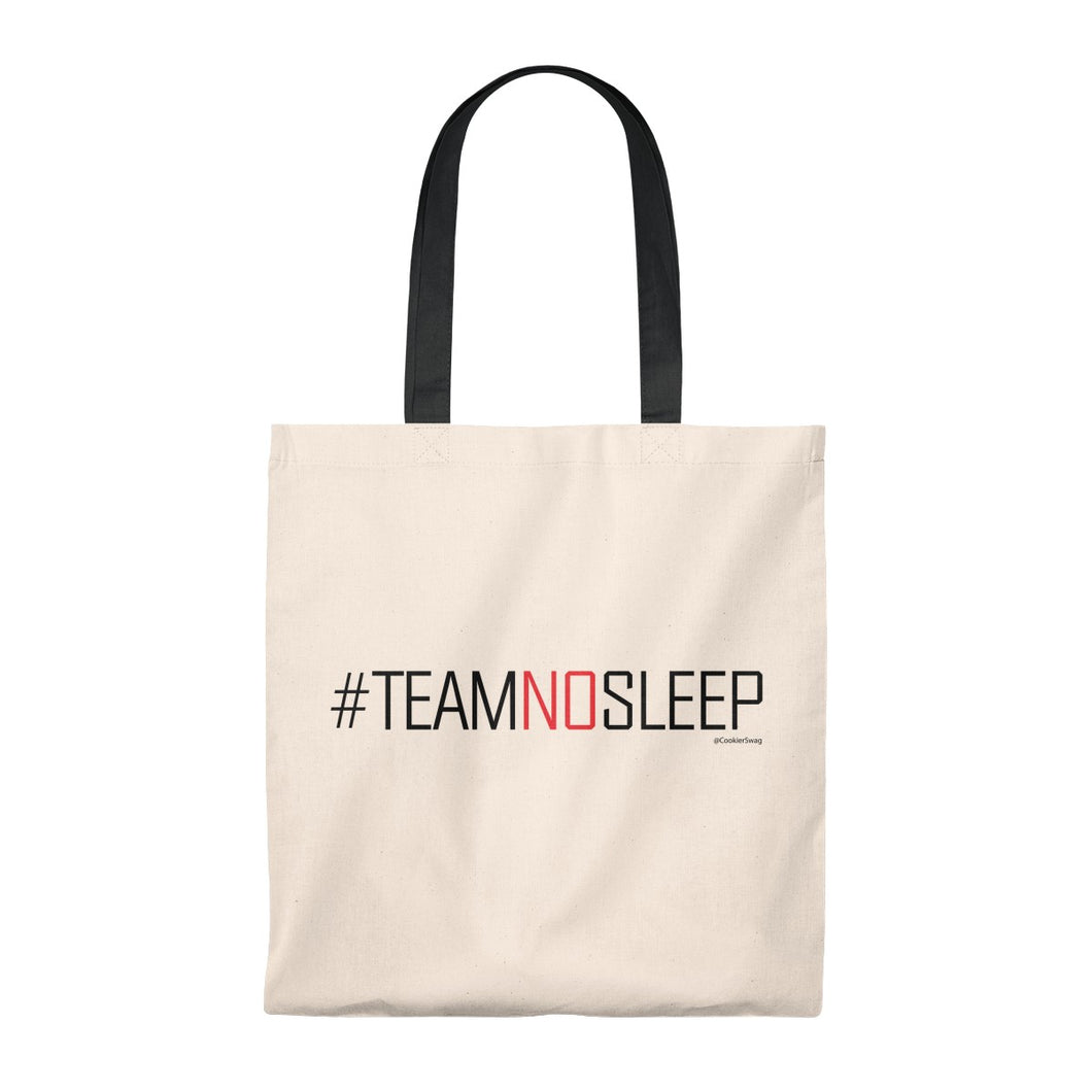 Team No Sleep Tote Bag - Vintage