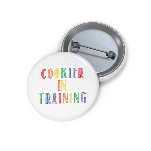 (a) Cookier in Training-Color Pin Button