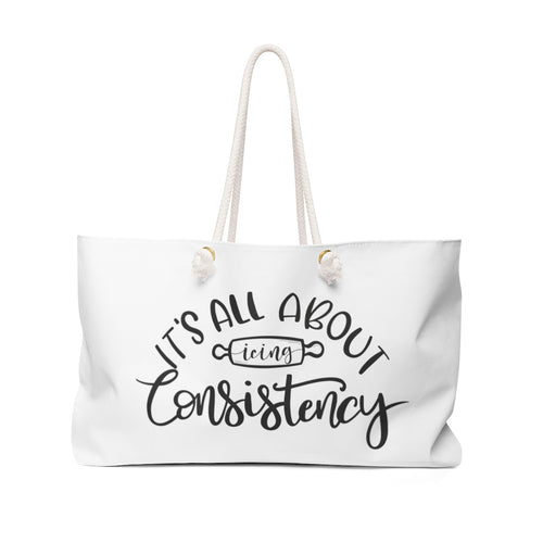 (b) It's All About Consistency Weekender Bag