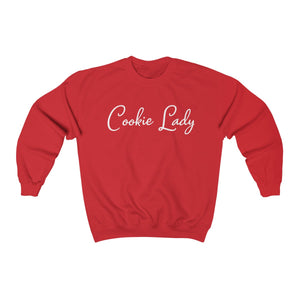 Cookie Lady Unisex Heavy Blend™ Crewneck Sweatshirt