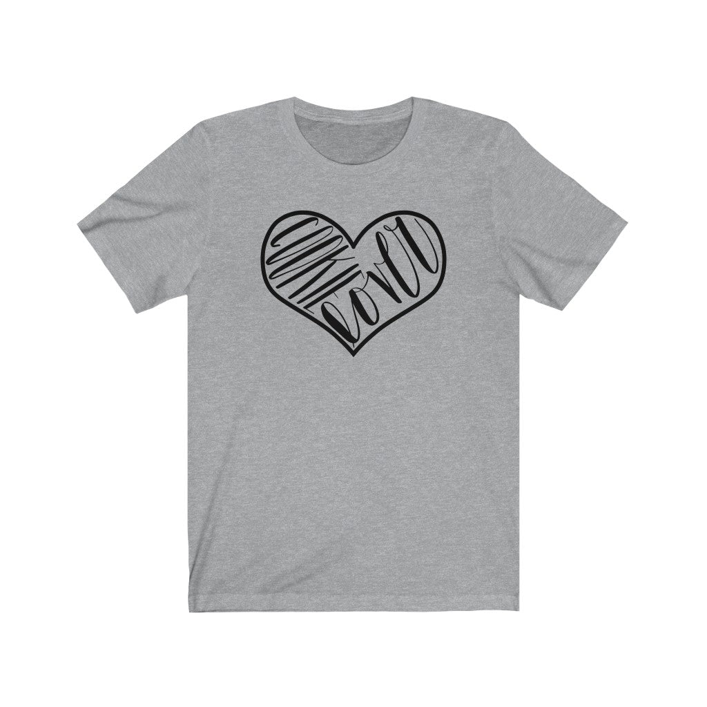 (a) Cookie Lover Bella+Canvas 3001 Unisex Jersey Short Sleeve Tee