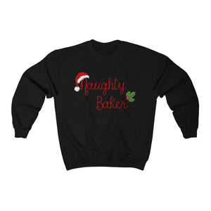 Naughty Baker Unisex Heavy Blend™ Crewneck Sweatshirt