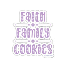 Load image into Gallery viewer, Faith Family Cookies Kiss-Cut Sticker