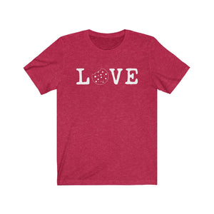 Love Bella+Canvas 3001 Unisex Jersey Short Sleeve Tee